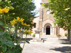 Eglise de Vorey-sur-Arzon - 1 fleur, villes et villages fleuris, Haute-Loire, Auvergne