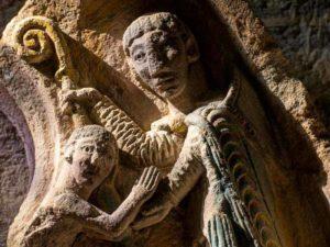 sculpture église de Chamalières-sur-Loire