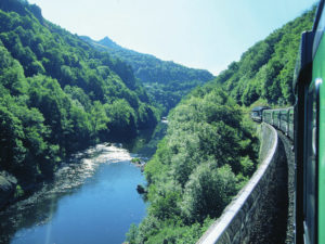 Train touristique Gorges de l'Allier
