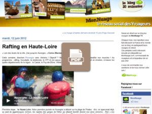 Blog mon nuage Haute-Loire