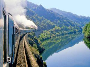 Les Gorges de l'Allier train touristique