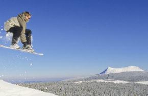 Sports d'hiver au Mezenc