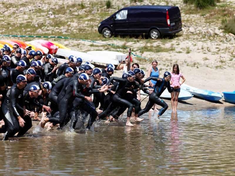 Triathlon national des Sucs, Lapte, Loisirs de pleine nature, Pays de la Jeune Loire, Haute-Loire, Auvergne