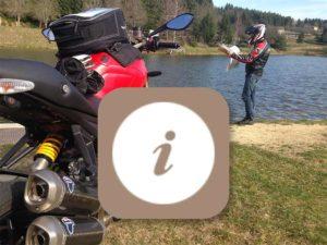 Informations pratiques pour les motards, découvrir la Haute-Loire en moto, Auvergne