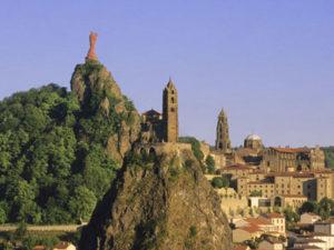 Le Puy-en-Velay, Boucle moto à la journée : La route de l'angle en Velay, Haute-Loire, Auvergne