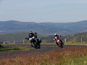 Boucle moto à la journée : La route de l'angle en Velay, Haute-Loire, Auvergne