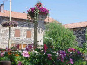 Blanzac, villes et villages fleuris, Haute-Loire, Auvergne
