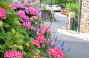 Monistrol d'Allier - 1 fleur, villes et villages fleuris, Haute-Loire, Auvergne