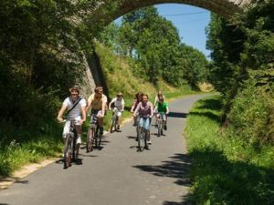 Parcours Vélo et VTT au bord de la Loire sauvage, Haute-Loire, Auvergne
