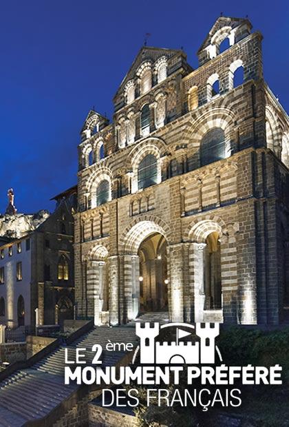 Cathédrale Notre-Dame du Puy-en-Velay, monument classé par l'UNESCO, 2éme monument préféré des Français, Haute-Loire, Auvergne