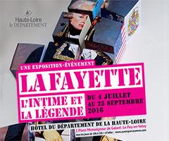 Exposition Lafayette - L'intime et la légende