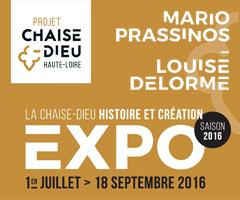 Exposition - Mario Prassinos et Louise Delorme - La Chaise-Dieu