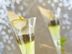 Gelée de Verveine aux lentilles vertes du Puy confites - Régis et Jacques Marcon