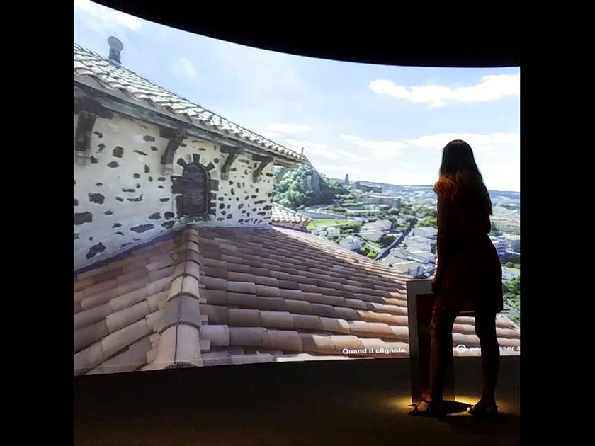 Espace visite virtuelle Rocher St-Michel