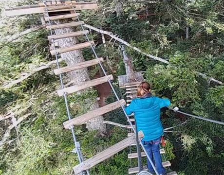 Parcours acrobatiques en Auvergne