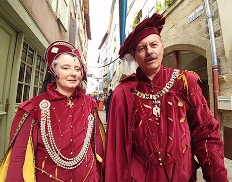 Fêtes Renaissance du Roi de l'oiseau au Puy-en-Velay