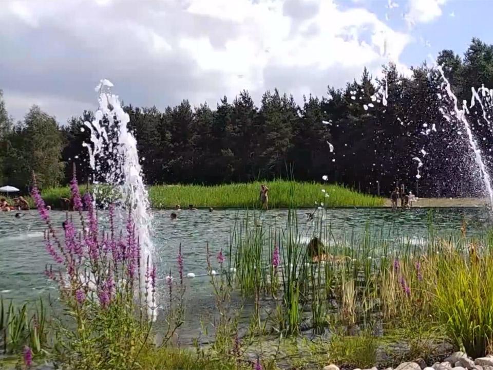 Baignade biologique à Saugues en Auvergne