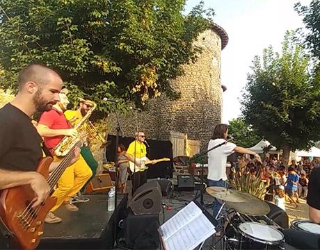 Concert de cuivres en Haute-Loire