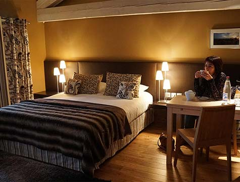 Chambre d'hôtel à Saint-Bonnet