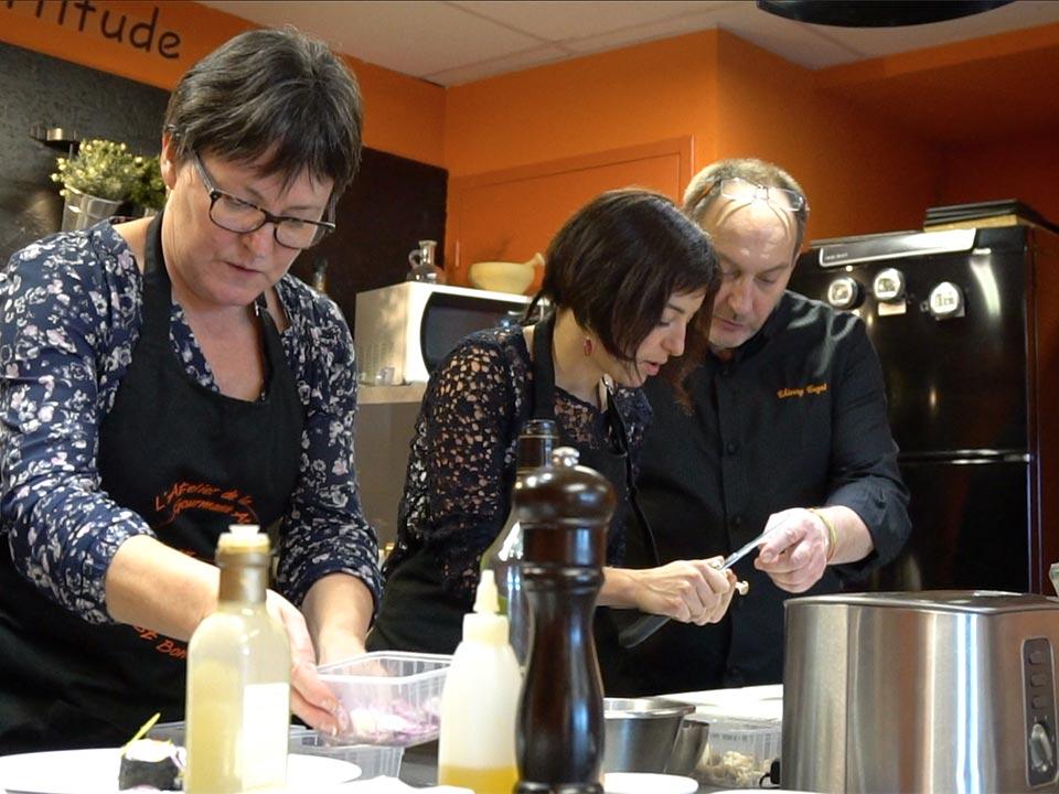 Cours de cuisine à Saint-Bonnet