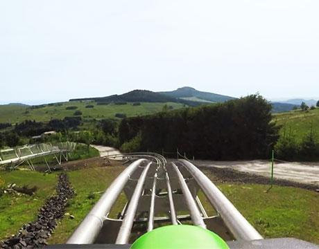 Luge d'été en Auvergne