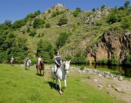 Séjour cheval en Haute-Loire