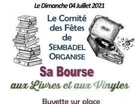 EVE_Bourse aux vinyles et livres_Comité des fêtes de Sembadel_affiche