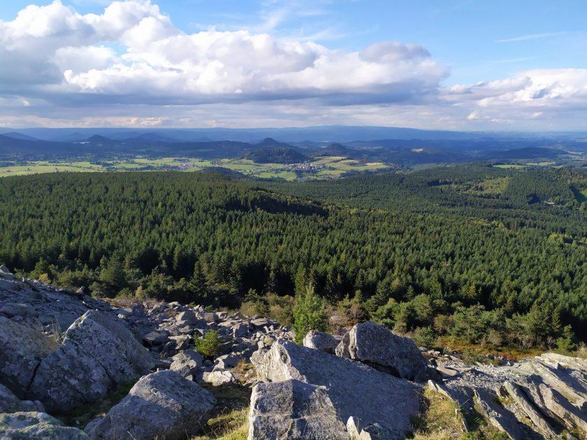 Panorama depuis le Pic du Lizieux