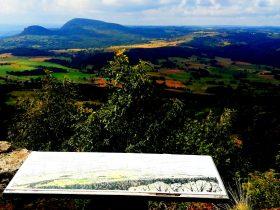 table d'orientation  du plateau de la Madeleine