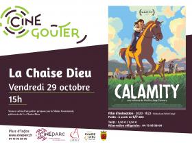 EVE_CinégouterCalamity_Cinéparc-affiche
