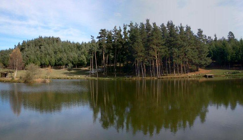 Panoramique Etangs de Bergougnoux