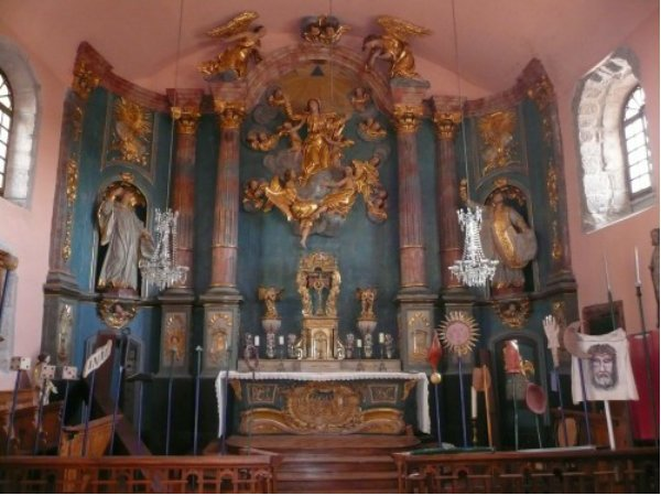 Retable Chapelle Pénitents Saugues