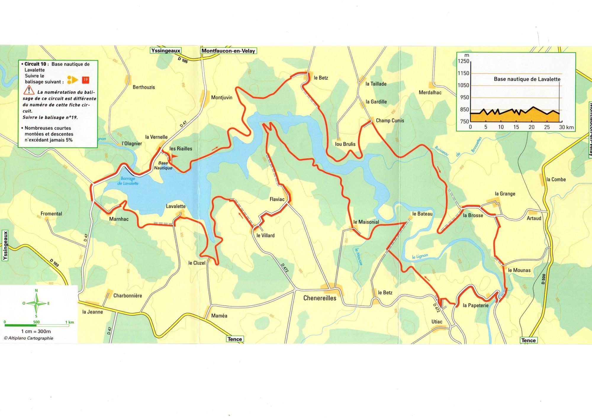Tour du lac en VTT
