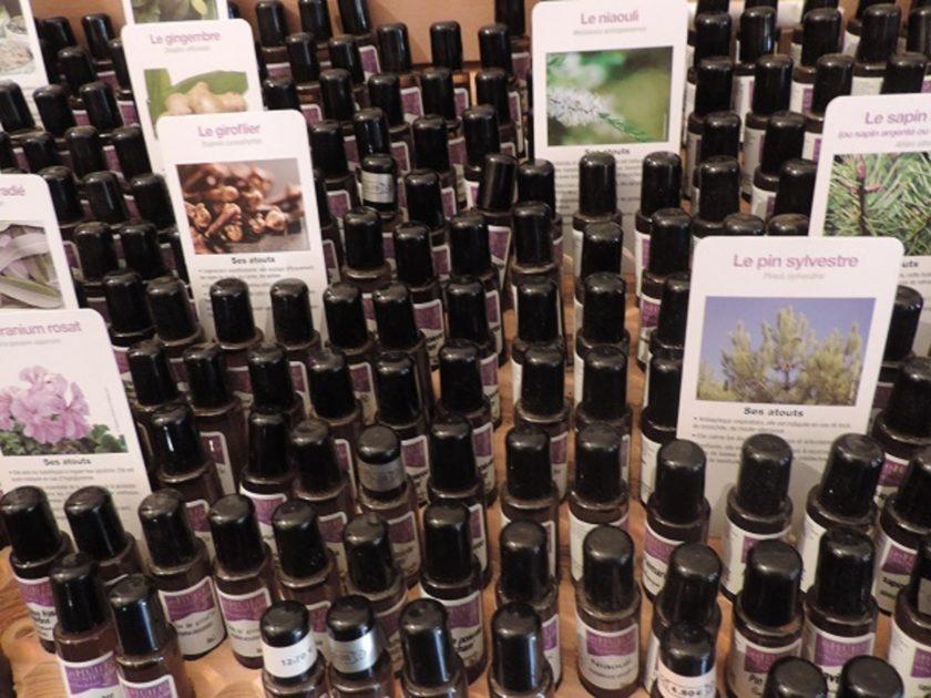 Les huiles essentielles de Cherchebrot