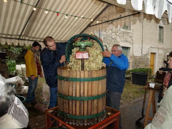 Fête du cidre à Malvières