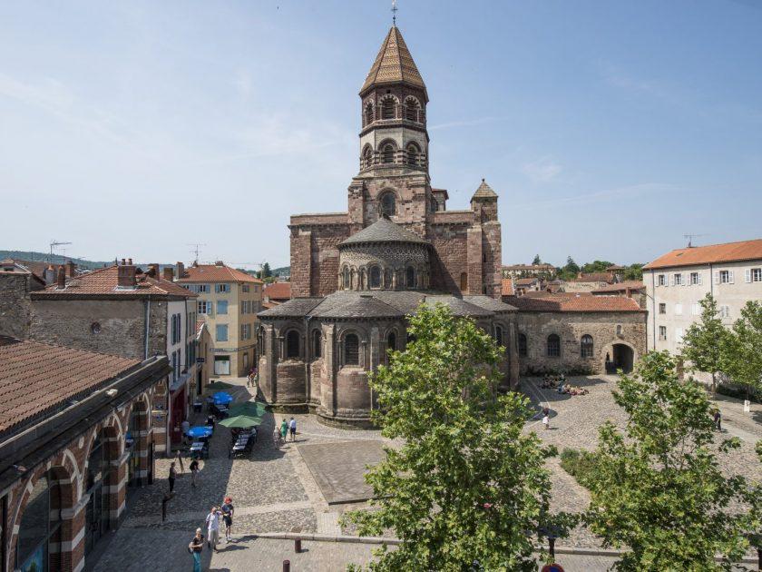 SEJ_Dentelle et Art Roman – basilique St-Julien de Brioude 1
