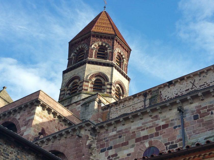 SEJ_Dentelle et Art Roman – basilique St-Julien de Brioude 2