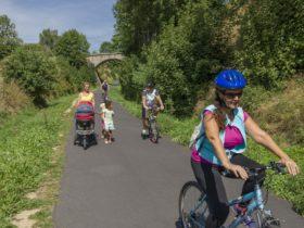 SEJ_Week-End Rando Voie Verte_sur la voie verte près de Riotord