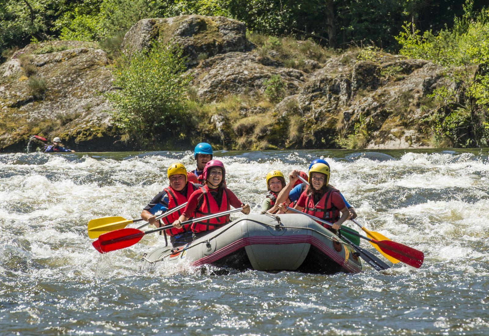 SEJ_Week-End Aventure dans les Gorges de l'Allier_raft canoe