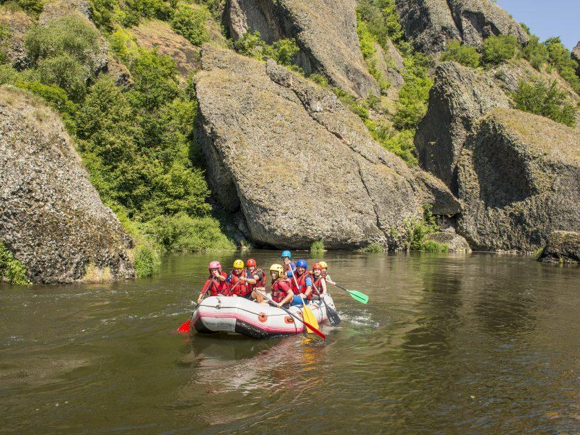 SEJ_Week-End Tonique dans les Gorges de l'Allier_raft calme plat