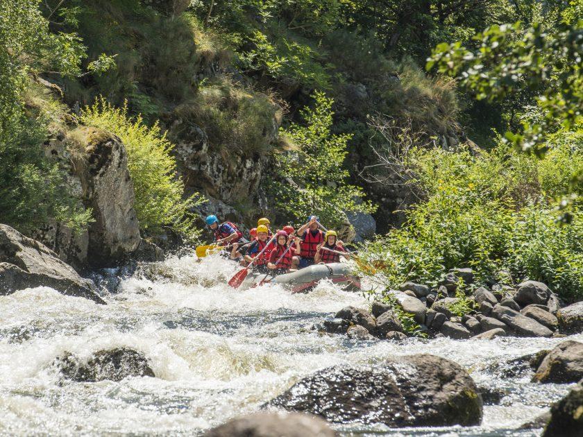 SEJ_Week-End Tonique dans les Gorges de l'Allier_rafting dans les courants