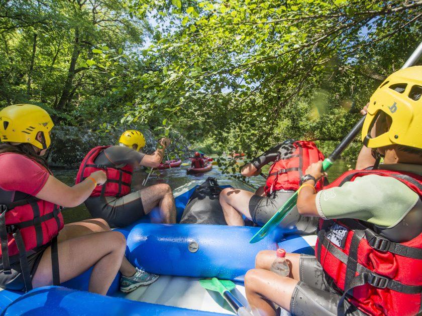 SEJ_Week-End Tonique dans les Gorges de l'Allier_à bord du raft