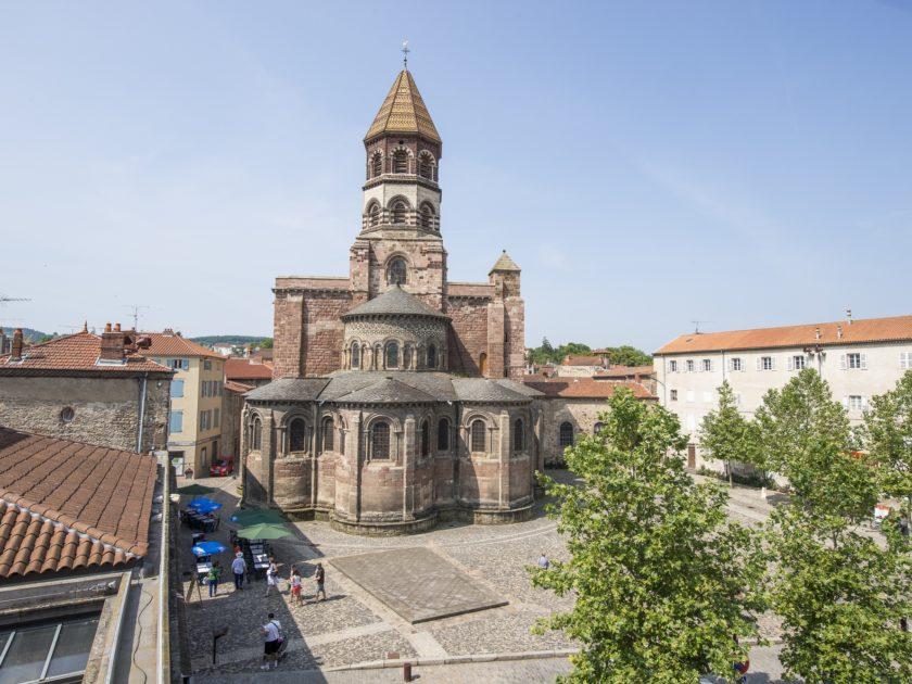 La basilique Saint-Julien de Brioude