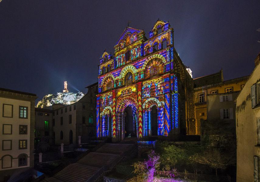 le Puy de lumières – cathédrale