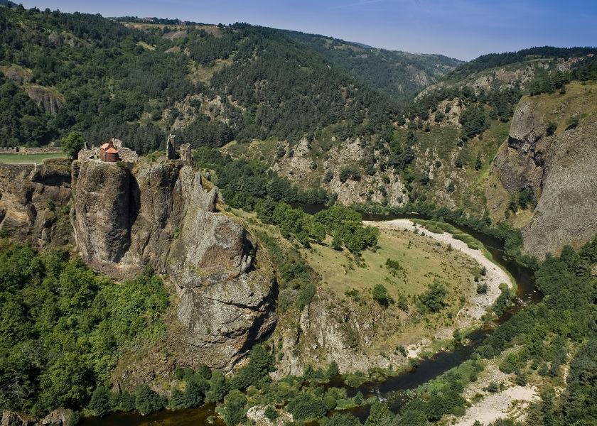 La haute vallée de la Loire