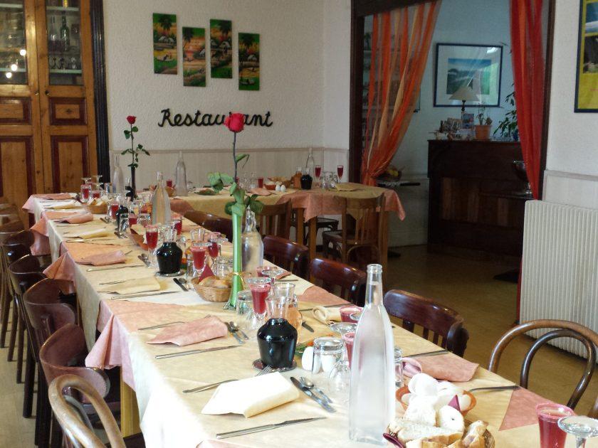 Intérieur Restaurant de l'Hôtel de l'île – Jumeaux