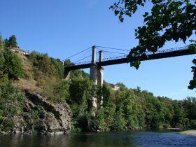 Pont suspendu Saint-Ilpize