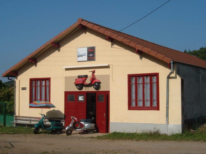 Musée Vespa extérieur