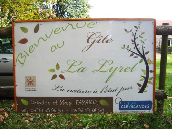 gîte Lalyret