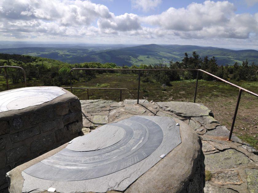 Table orientation Mont-Mouchet